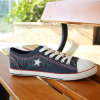 2016 Men′s Canvas Shoes with Star (SNC-02005)