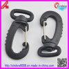 Black Plastic Hook Buckle for Bags Hook Buckles (XDZY-005)