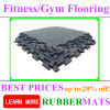 Eco-Friendly Non-Slip Fitness Rubber Flooring Mats