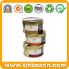 Round Metal Chocolate Can, Food Tin Box, Chocolate Tin