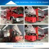 4X2 Fire Fighting Rescue Truck with Crane