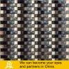 Wave Shape Glass Mosaic Mix Stone or Metal (S04)