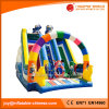 Inflatable Outdoor Bouncy Castle Slide for Sale (T4-510)