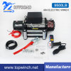 12V/24V DC 9500lb-2 Trailer/Truck/Jeep Winch Recovery Electric Winch