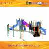 Outdoor Playground Equipment with 114cm Galvanized Post for Children