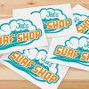 Custom Weather Resistance Fancy Label Printing Die Cut Logo Adhesive Sticker
