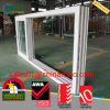 UPVC Window Double Glazed, Stacking Sliding Window Door Design