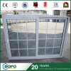 Double Glazing UPVC Sliding Window with Grill Design