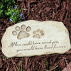 Resin Garden Stepping Stone of Garden Pet Devotion