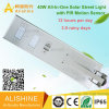 40watts All-in-One Solar LED Street Light with PIR Motion Sensor