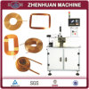 CNC Self Supported Air Coil Winder for Fine Wire Bonded Bobbinless Coils