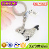 High Quality Shiny Crystal Dolphin Animal Keychain