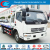 Dongfeng 6 Wheel 4t Flatbed Wrecker Truck