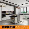 Modern High Gloss White HPL Lacquer Wooden Kitchen Cabinet (OP16-HPL03)