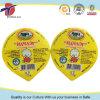 12.5cl PP Dairy Pot Heat Seal Aluminum Foil Cover