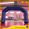 Blue Inflatable Air Arch with Logos (AQ5304)