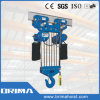 Brima High Quality 20t Electric Chain Hoist with Electric Trolley