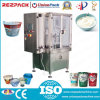 Automatic Yoghurt Weighing Filling Sealing Plastic Cup Packing Machine (RZ-R/2R/3R)