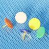 Coloured Plastic Coated Thumbtack (QX-T003) 9.5/10mm