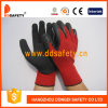Ddsafety 2017 Red Cotton Latex Coating Glove Safety Gloves