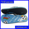 Hot Style Jelly Strap Slippers with Portugal Football Print