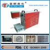 Barcode/Qr Code/Text Laser Marking Machine on Hardware, Metal Surface