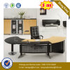 Round Corner Shape Big Size Steel Modern Office Table (UL-MFC235)