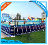 Custom Size Steel Frame Swimming Pool, Metal Frame Pool for Water Park