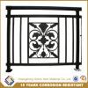 Security No Welding Galvanized Steel Bronze-Coloured Tubular Balcony Railing
