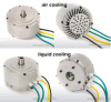 3kw Electric Motorcycle Conversion Kit 48V /72V /96V BLDC Motorbike Motor/MID Drive Motor with Ce Certificate