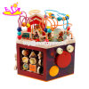 New Design Six Sided Large Educational Wooden Activity Cube Toy for Children W11b160