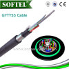 Stranded Loose Tube Armored Outdoor Gyty53 Cable for Directly Burial Using