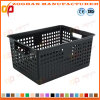 Supermarket Fruits and Vegetables Plastic Container Transport Turnover Basket (Zhtb12)