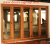 Modern Design Solid Wood Folding Doors