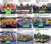 Funny Inflatable Slide Fun City Inflatable Castle Inflatable Bouncer