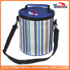 Hot Sale Multicolor Striped Pattern Aluminium Foil Cooler Bag for Medication