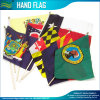 Promotion Paper Polyester Custom National Country Hand Flag