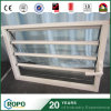 UPVC Glass Shutter Security Blind Louver Windows with Handle