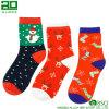 Wholesale Deer Cotton Custom Christmas Crew Socks