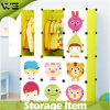 DIY Fashion Storage Cabinet Folding Kids Plastic Wardrobe