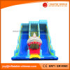 2017 The Great White Shark Inflatable Double Lane Slide (T4-241)