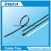 Factory Direct PVC Coated Ball Locked Stainless Steel Cable Tie