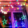 2017 Ce&RoHS Approved Good Quality LED Color Changing Curtain Light Wholesale Star Curtain Light From Yuegang