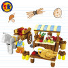 Kids Farm Market Blocks Toy for Play Game