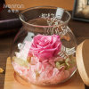 Ivenran Luminous Wish Bottle Fresh Flowers for Creative Gift and Decoration