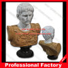 Caesar August Bust Marble Statue for Home Decoration