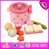 2015 Educational Toys Kitchen Cooking Play Set, Role Play Cooking Food Toy, Wooden Kitchen Toys Strawberry Cooking Set Toy W10d106