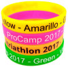 Customized Printing Promotional Sport Eco-Friendly Colorful Silicone Wristband