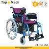 Topmedi Lithium Battery Folding Electric Power Wheelchair