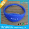 13.56MHz RFID Silicone Wristband Smart RFID NFC Wristband Customize Logo